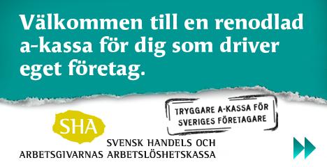 Tryggare a-kassa för Sveriges företagare